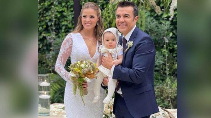 Los recién casados, Adrián Uribe y Thuany Martins celebran los 7 meses de su hija Emily