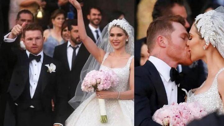 ¿Tiró la casa por la ventana? Este sería el costo de la 'boda del año' de 'Canelo' y Fernanda Gómez