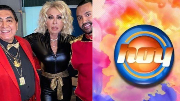 """Tras 'despido' de 'Hoy' por Laura Bozzo, actor de Televisa arremete en su contra: """"Nunca se calló"""""""