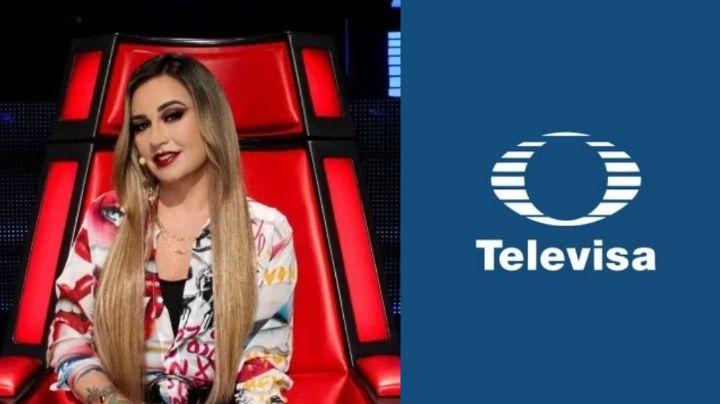 ¿Adiós María José? Tras irse a TV Azteca y estar en 'La Voz', Televisa la reemplaza en esta novela