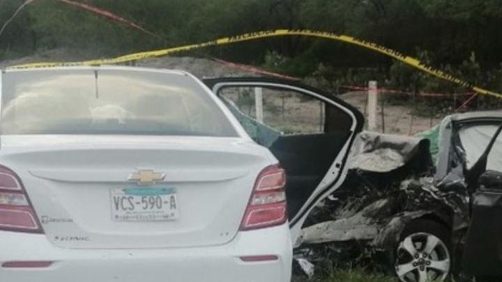 Trágico accidente: Choque en carretera de SLP deja 9 muertos;  3 eran menores de edad