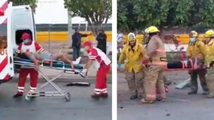 Ciudad Obregón: Joven embarazada resulta lesionada en aparatoso accidente vehicular