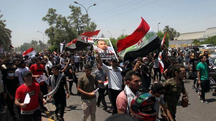 Protestas en Irak por muertes de periodistas y activistas dejan varios heridos y 1 muerto