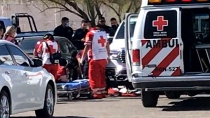 Balean a un hombre en el estacionamiento de un banco en Hermosillo; sospechan asalto