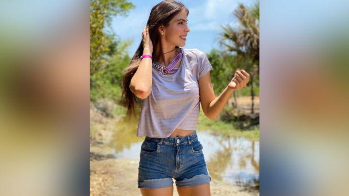 Esmeralda Ugalde conquista Instagram al lucirse irresistible desde TV Azteca en vestido