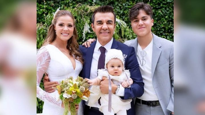 Esta fue la reacción del hijo de Adrián Uribe a la boda del presentador con Thuany Martins