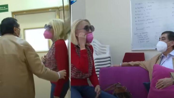 ¡Pleito en Televisa! En 'Hoy', Laura Bozzo se da tremendo agarre con actor al aire