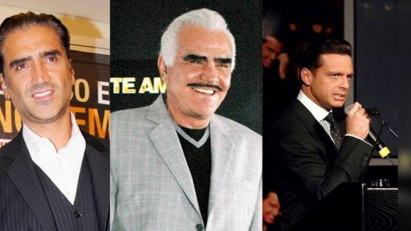 Revelan que gira de Luis Miguel y 'El Potrillo' habría sido cancelada por culpa de Vicente Fernández