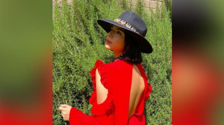 ¡Maravillosa! Ángela Aguilar roba corazones en Instagram con entallado 'outfit'