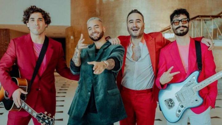 ¡Lo hacen de nuevo! Al ritmo más romántico Reik y Maluma lanzan canción 'Perfecta'