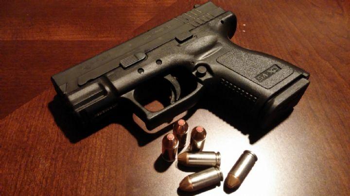 Brutal: Con arma de fuego, Miguel Ángel amenaza a Policías en plena calle; disparó al aire