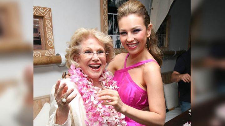 """""""Te amo siempre mamita"""": Conmovida, Thalía recuerda a su madre a 10 años de su muerte"""