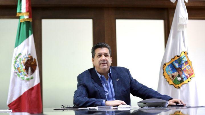Francisco García Cabeza de Vaca sale de Casa Tamaulipas tras una semana de encierro