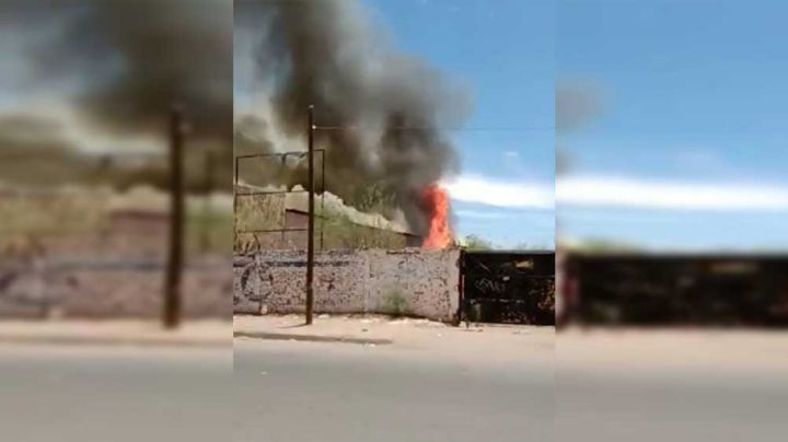Arde salón de eventos en la colonia Cumuripa de Ciudad Obregón; afecta varias áreas