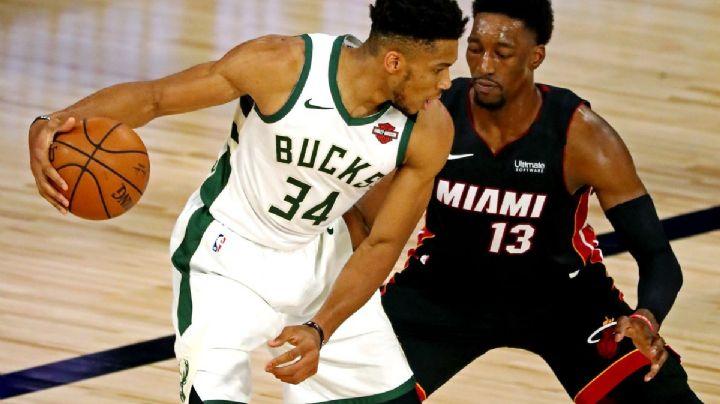 Los Bucks se imponen ante el Heat y Milwaukee está a punto de 'apagar' a Miami