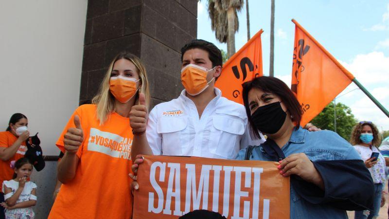 Revelan cartel de cierre de campaña de Samuel García; Genitallica y Jonaz estarán presentes