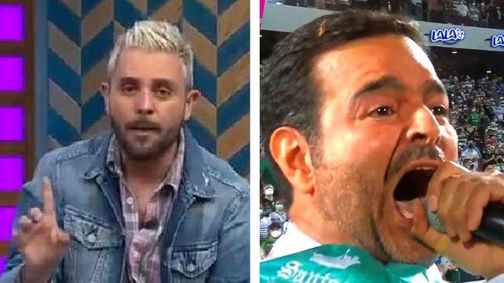 """""""Vergonzoso"""": Elenco de 'VLA' destroza a Pablo Montero por error en el Himno y pide que lo multen"""