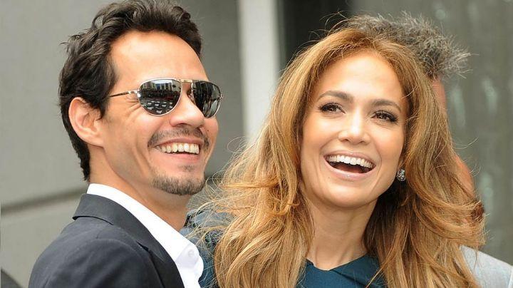 POLÉMICA FOTO: Los exesposos, Jennifer Lopez y Marc Anthony son captados en plena cita