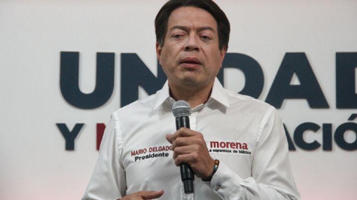 Detienen y apuntan con armas largas a Mario Delgado y su equipo en Tamaulipas