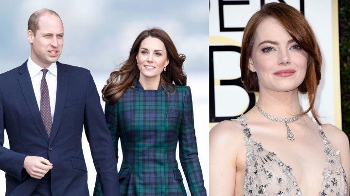 Previo al estreno de 'Cruella', Príncipe William 'regaña' a Emma Stone por hacer esto en Londres