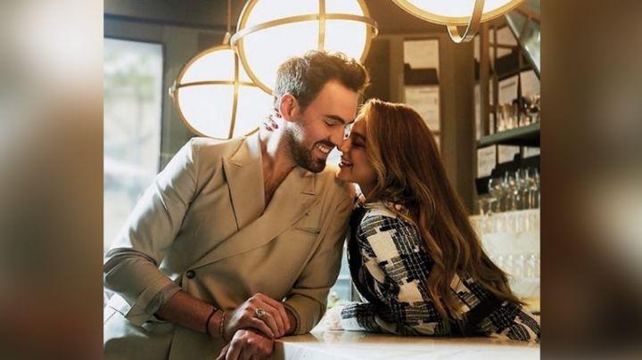 ¿Boda en Televisa? Sofía Castro festeja 2 años de amor; hija de Angélica Rivera dice si se casa