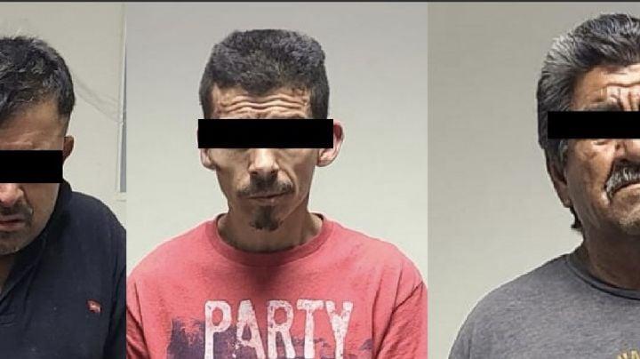 Interceptan PESP y Policía Municipal de San Luis Río Colorado a tres hombres armados