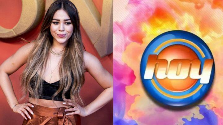 Rechazó a Televisa: Tras dejar TV Azteca, Danna Paola es invitada a 'Hoy'; ignora la propuesta