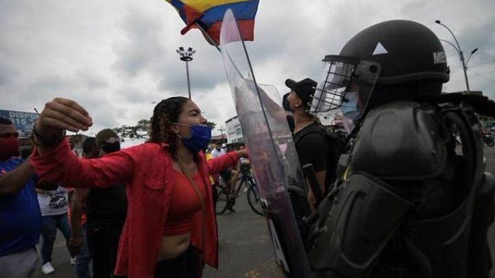 #ColombiaEnAlertaRoja: Paro nacional en Colombia suma un mes y así es como se ve
