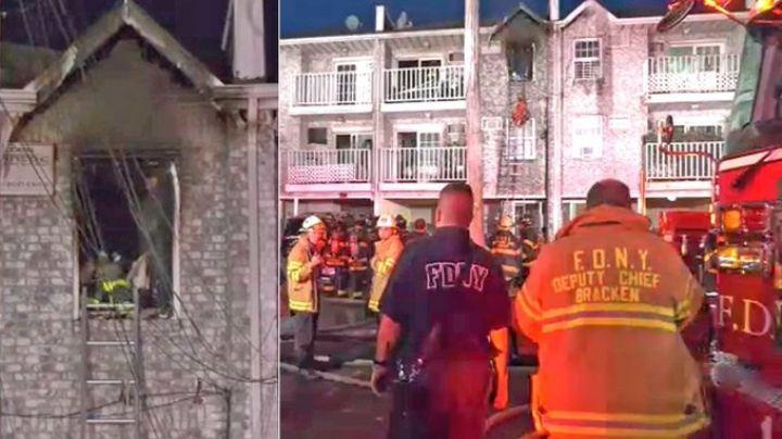 ¡Terrible! Cable sobrecargado causa 2 incendios; 4 mujeres son hallas inconscientes
