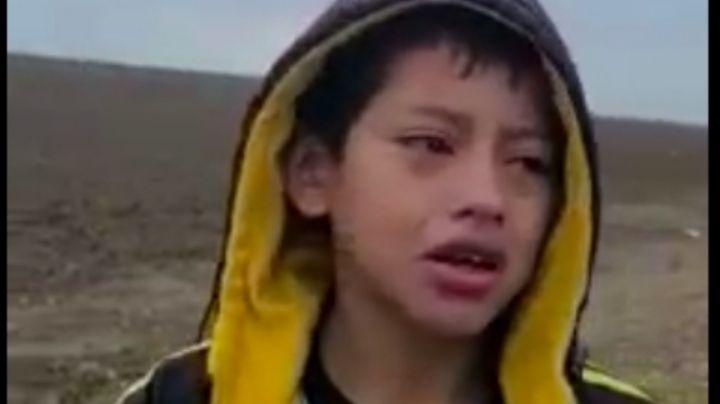 Niño migrante abandonado en la frontera se reúne con su madre; la mujer estaba secuestrada