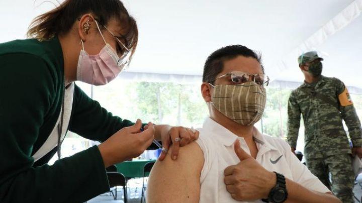 En menos de 24 horas se registran 2.5 millones de personas de 40 a 19 años para vacunación