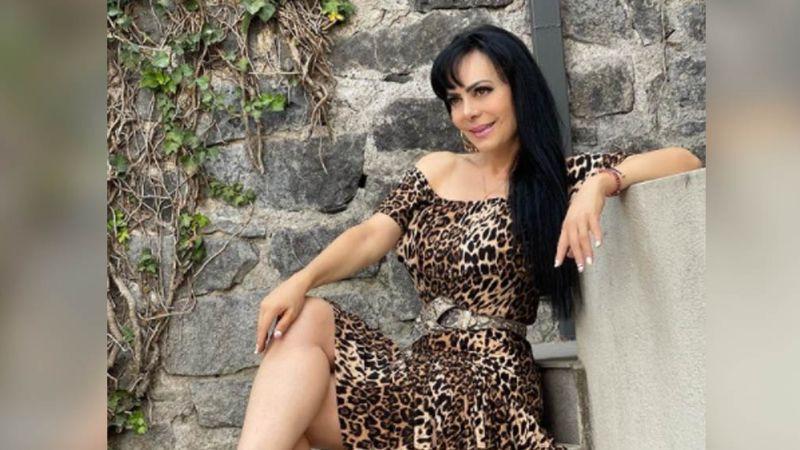 Maribel Guardia hace vibrar los foros de Televisa al aparecer en colorido y muy ajustado atuendo