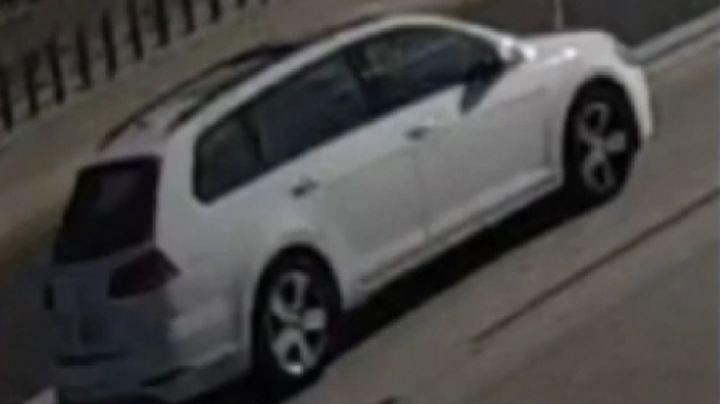 """""""Es hora de que te entregues"""": Este es el auto desde el que dispararon contra Aiden Leos"""