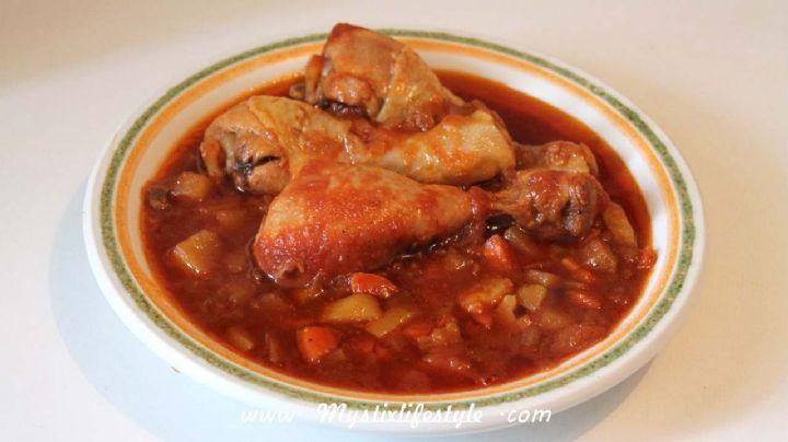 ¡Más delicioso, imposible! Prepara esta rica y saludable receta de alitas de pollo con papas