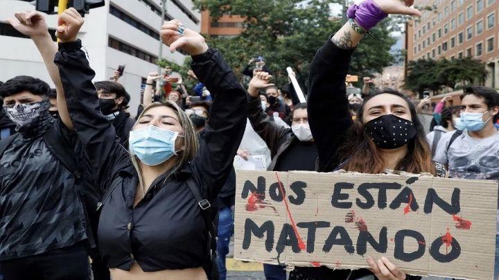Colombia rompe récord de muertes por Covid-19 en un día; las protestas continúan