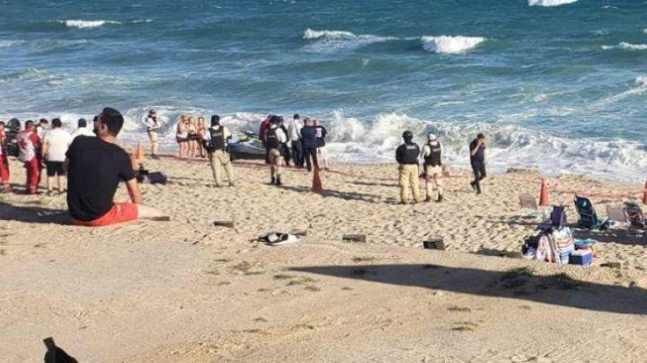 Joven murió ahogado en una playa de Puerto Peñasco; ignoró el fuerte oleaje