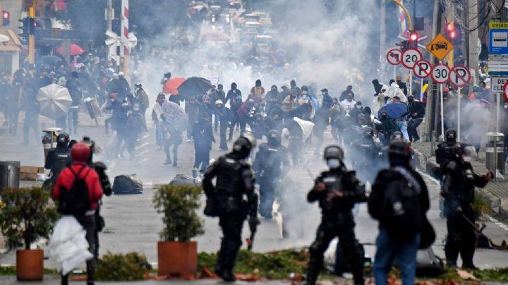 Lamentable: Protestas en Colombia dejan saldo de 17 muertos y más de 800 heridos