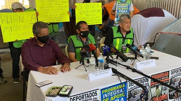 ¡Terrible! Secuestran a mujer e hijo migrantes en campamento de Tijuana
