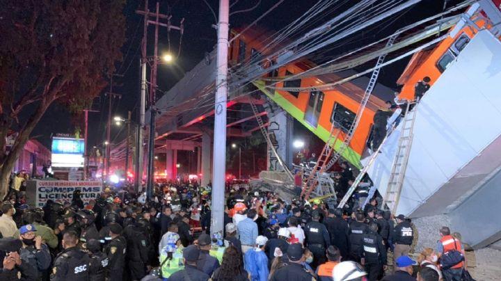 Línea 12 del Metro: A un mes del derrumbe, aún no hay responsables; AMLO promete justicia
