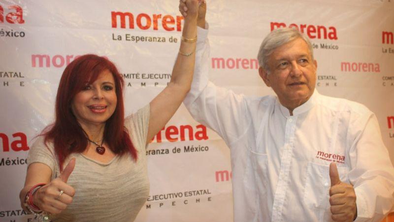 Layda Sansores se 'derrumba' en las encuestas; la candidata de Morena tiene 'otros datos'