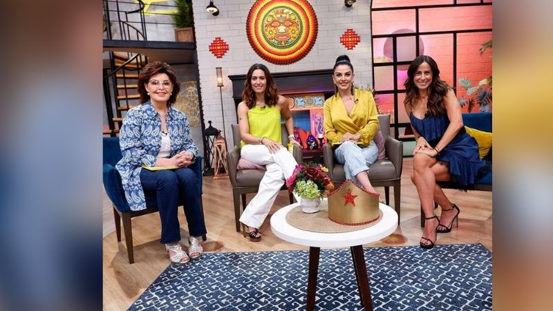 ¡Qué morbosa! Conductora de 'Sale el Sol' revela que espió a actor de Televisa en la intimidad