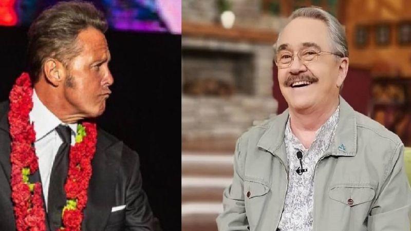 ¡Fuerte confesión! Pedro Sola, conductor de TV Azteca, revela que aceptaría un beso de Luis Miguel