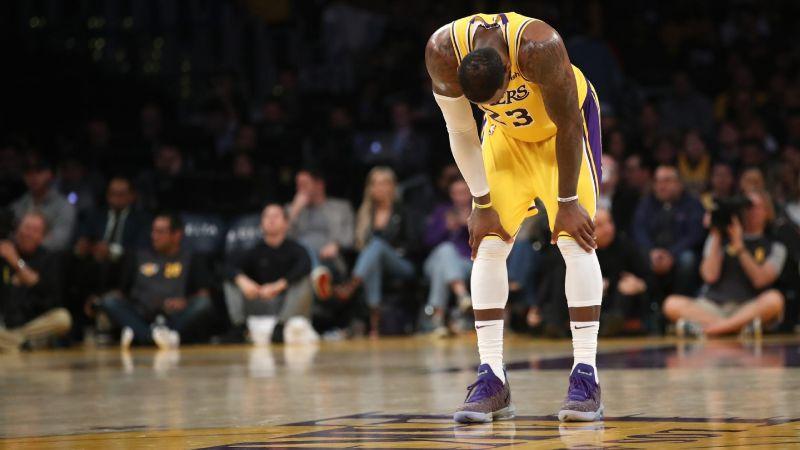 LeBron James no estará en el partido hoy ante Denver por dolor en el tobillo