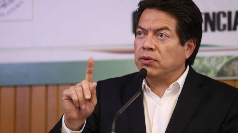 Mario Delgado pide a la SCJN que arresten a Cabeza de Vaca tras su notificación de desafuero