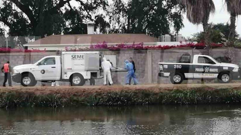 Fue 'levantado' por motosicarios: Identifican al 'encobijado' arrojado a canal de Ciudad Obregón