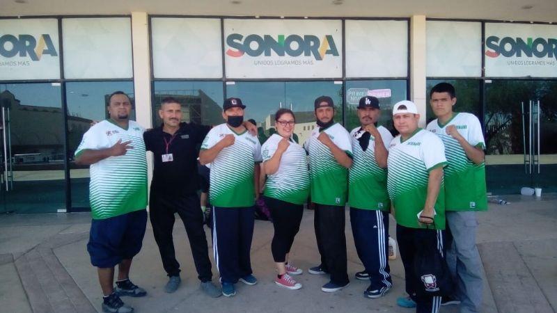Cuatro cajemenses destacan en el estatal de boxeo en Hermosillo