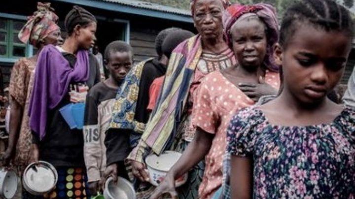 Advierten sobre un posible brote de cólera entre desplazados por erupción de volcán en el Congo