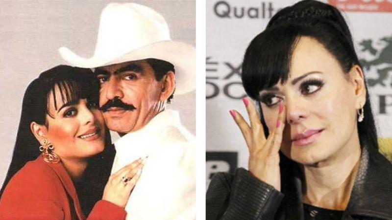 """""""Te me largas"""": Así se enteró Maribel Guardia que Joan Sebastian la engañó con actriz de Televisa"""