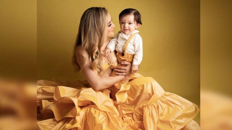 Fiesta en Televisa: Sherlyn celebra el primer año de ser mamá del pequeño André