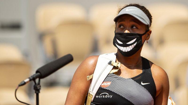 Naomi Osaka es multada y podría ser expulsada de Roland Garros por indisciplina
